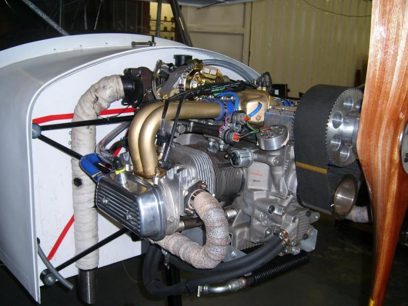 Bush King STOL 2.3l EFI TURBO 137HP@ 4250RPM